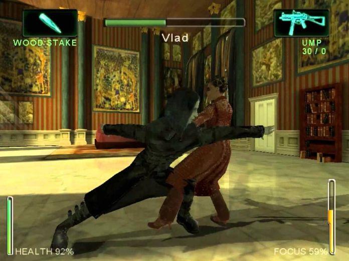 Enter the Matrix video game