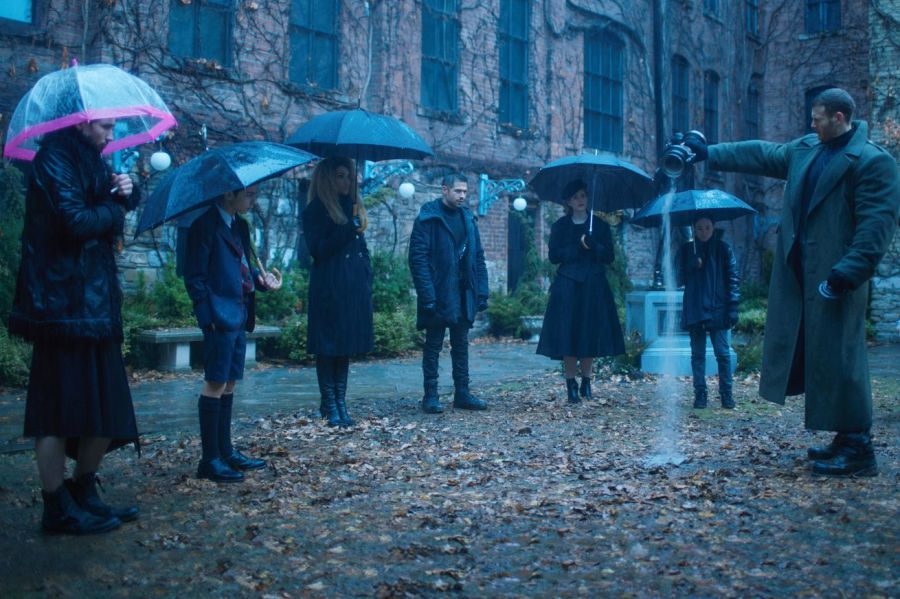 <em>The Umbrella Academy.</em>