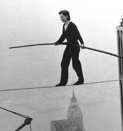 the real story behind philippe petit s world trade center high wire stunt [ 1200 x 800 Pixel ]