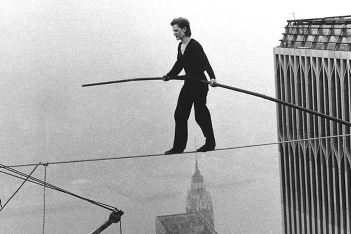 hight resolution of the real story behind philippe petit s world trade center high wire stunt