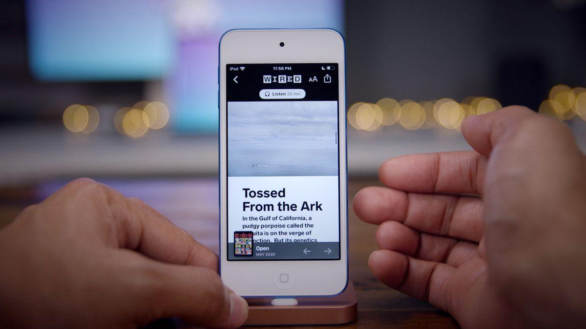 Apple News Plus Article Audio Listen - Apple News Plus' new Audio stories appear in iOS 13.5.5 beta