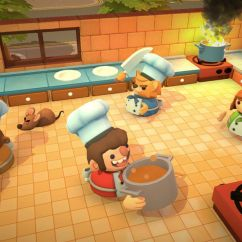 Kitchen Game Cast Iron Sinks Overcooked Brings Cooking To Nintendo Switch Eater The Video Has All Drama Of Chopped With Added Rush Battling Monsters