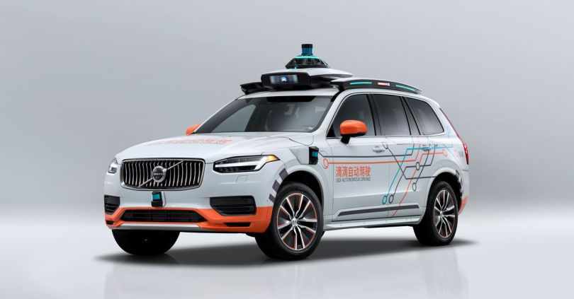 Volvo will provide cars for Didi's autonomous vehicle division