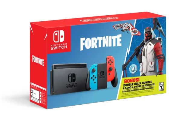 Nintendo Switch Is Getting A Fortnite Bundle With