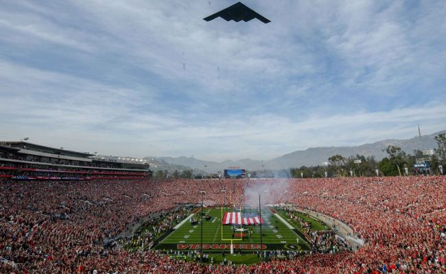 Ncaa Football New Years Day Bowl Games Tv Guide And Times