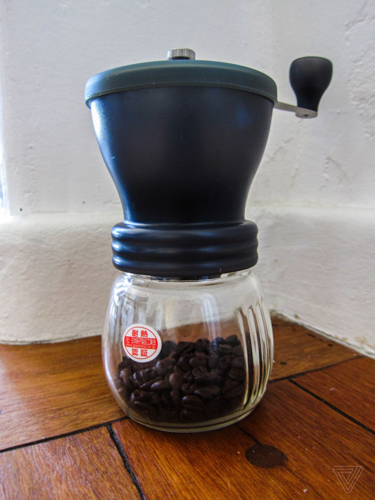 this silent coffee grinder