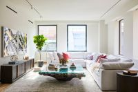 Restoration Hardware designed this 88&90 Lex model condo