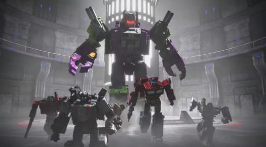Scorponok, the Headmaster Commander in Transformers: Earthrise