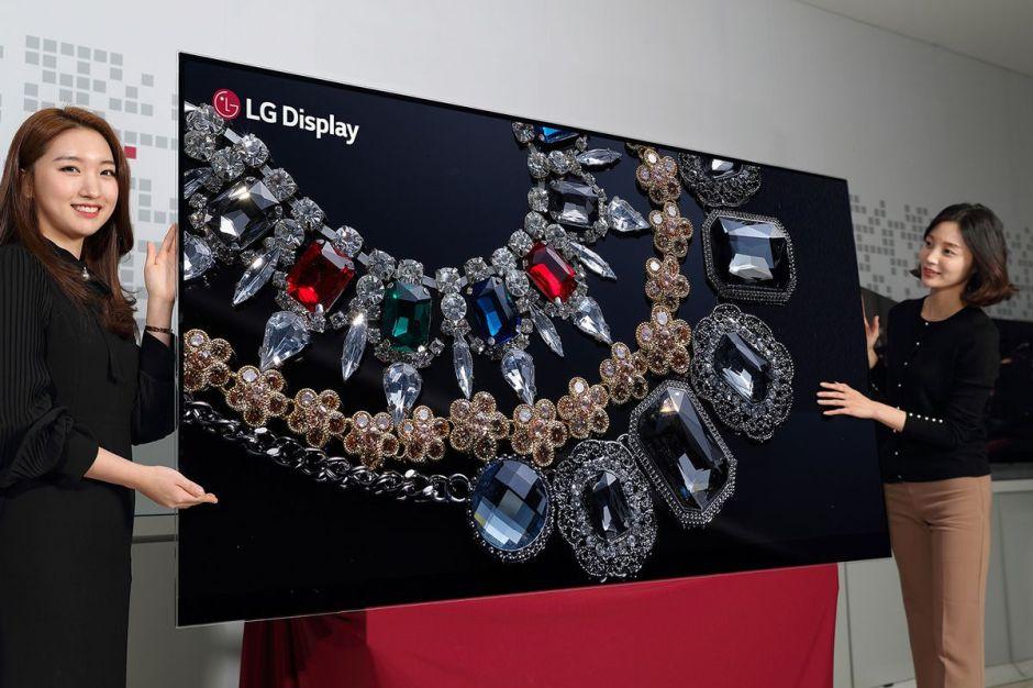 Image result for lg 88 inch 8k display