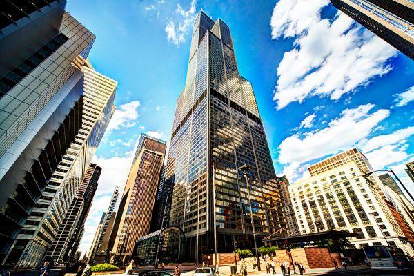Blackstone Unveil Big Renovation Plans Chicago Willis Tower Week - Curbed