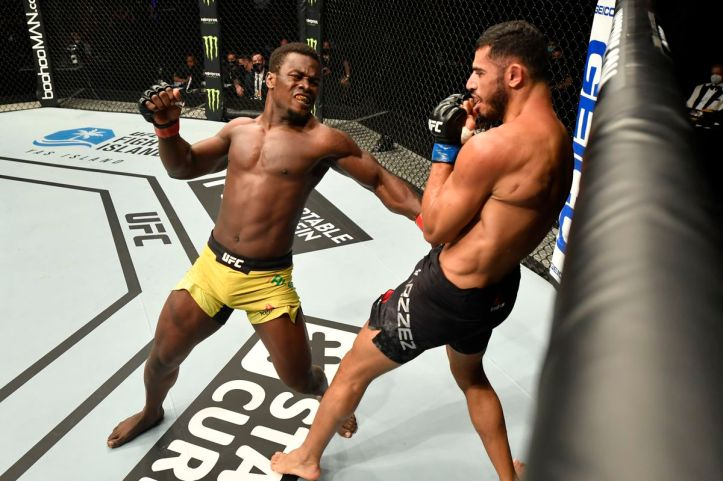 Boy it sure would be nice for Alhassan to return to some form of knockout form | UFC on ESPN 30