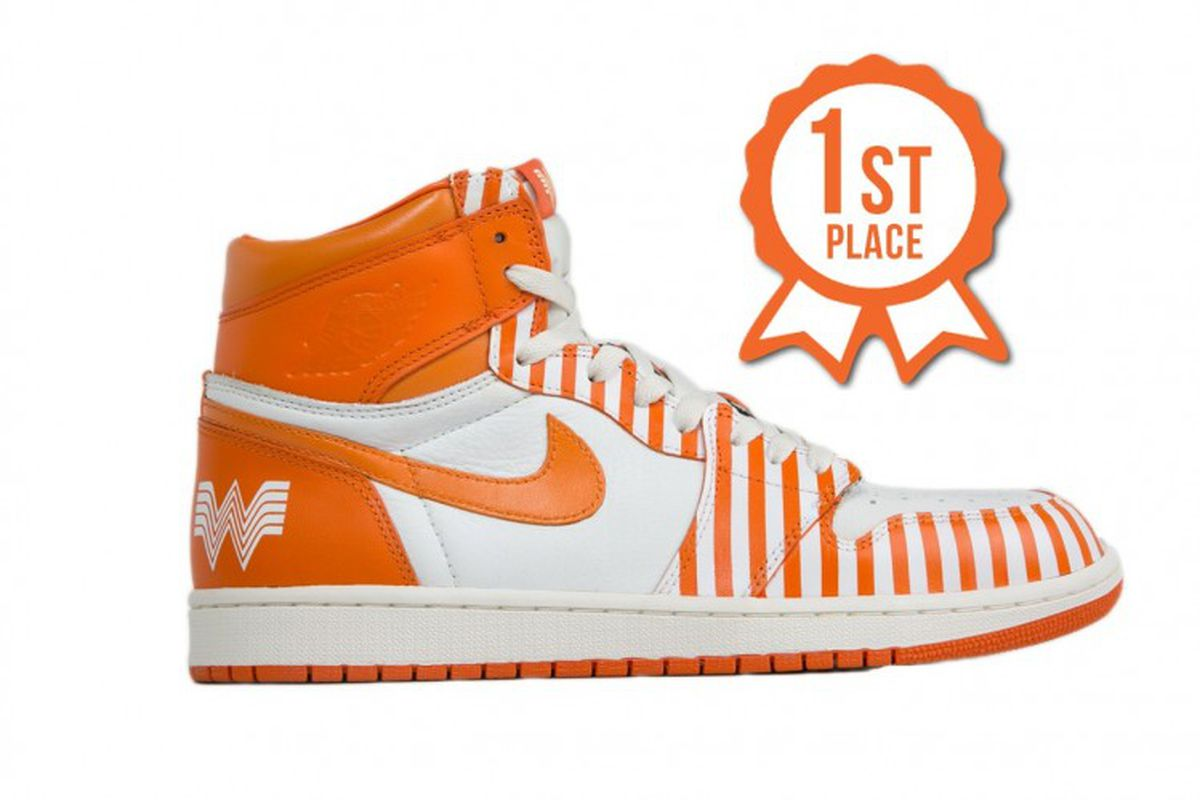 Would You Wear These Orange And White Whataburger Nikes
