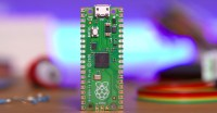 The Raspberry Pi Pico is a tiny  microcontroller running off the company's very own chip