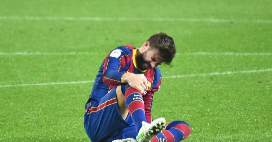 The absences of the central defender occupy a central place in El Clásico