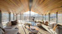 Three-pronged glass house rises in Vermont - Curbed