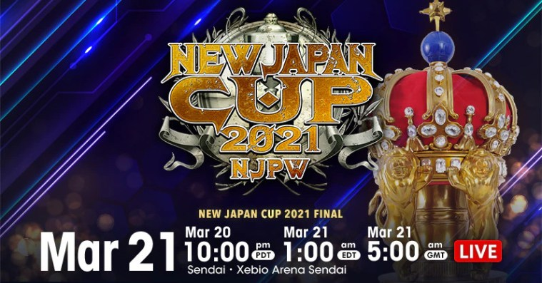 New Japan Cup results: Finals!