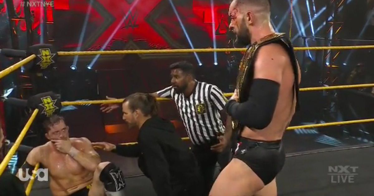 Bálor & O'Reilly send each other to hospital again at New Year's Evil