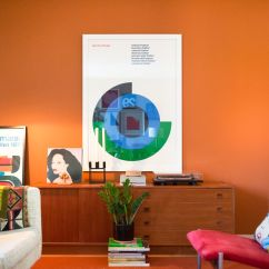 Orange Living Room Decorating Ideas Contemporary Teak Furniture How To Brighten A Dark 9 Try Curbed These Tips Out And Watch Your Light Right Up