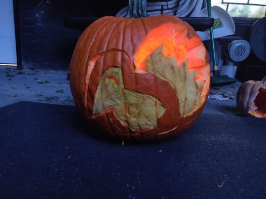 Scary video game jack-o-lanterns from Polygon's staff 8