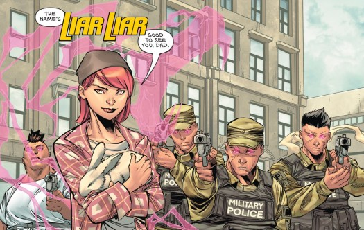 Emma Lord, aka Liar Liar, reveals herself as Wonder Woman's next mind-controlling villain, the daughter of Max Lord, in Wonder Woman #762, DC Comics (2020).