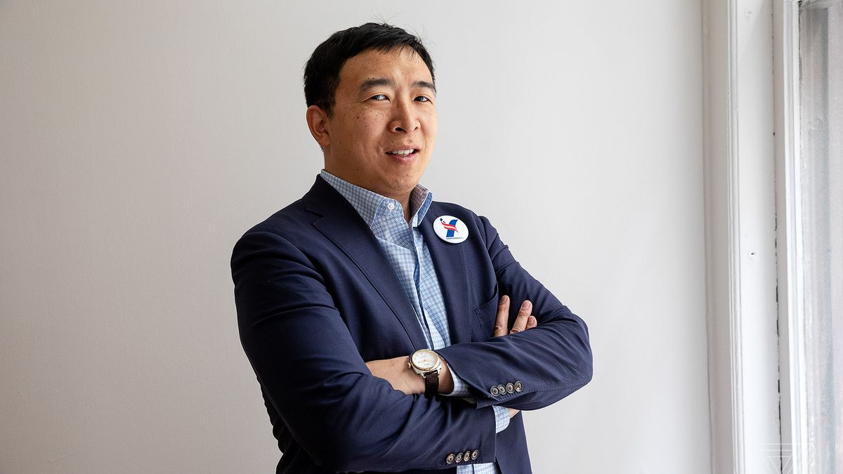 andrew yang is the