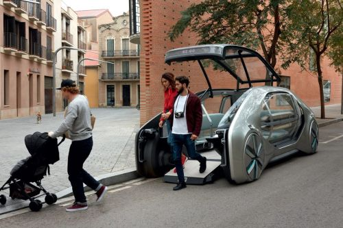 small resolution of ez go is an electric driverless ride share vehicle by renault