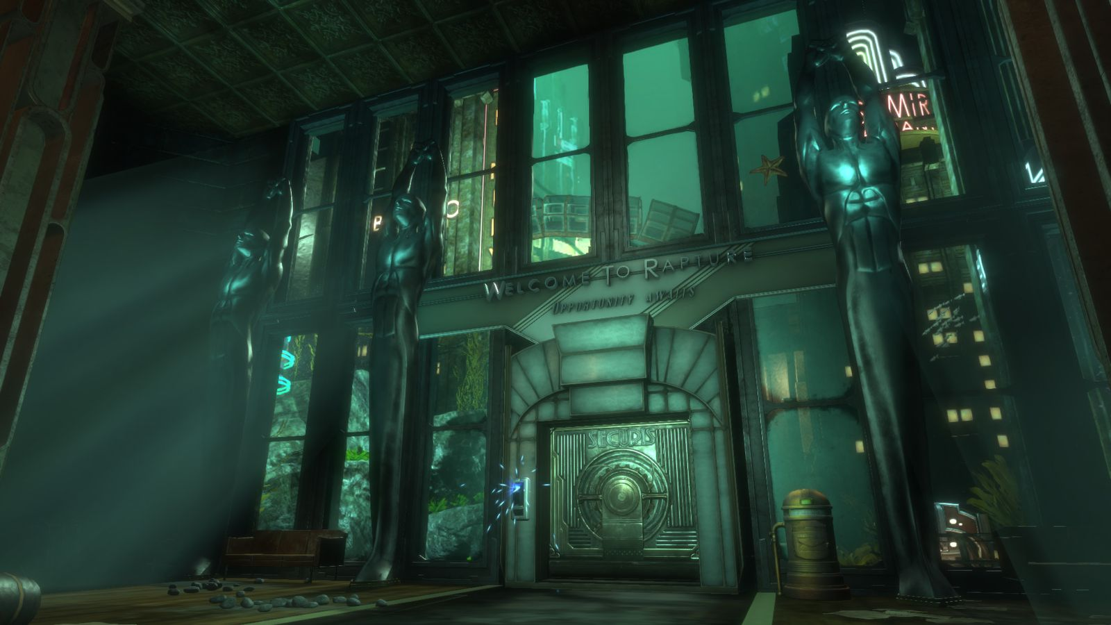 Nintendo 3d Wallpaper Bioshock The Collection Seems Like A Worthwhile Return To