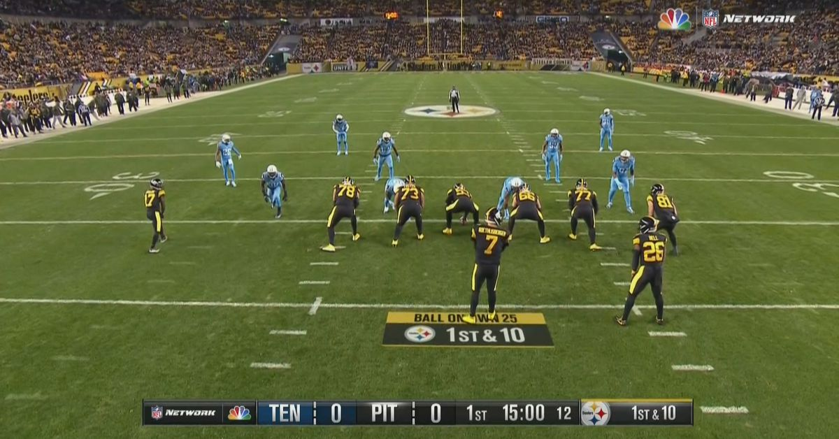 NBC Tests SkyCam As Main Angle For Titans Vs Steelers On