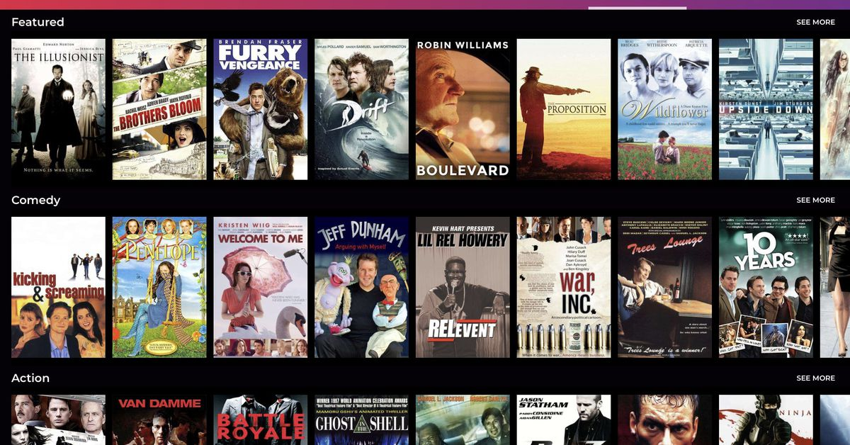 Redbox's free ad-supported streaming service adds on-demand movies