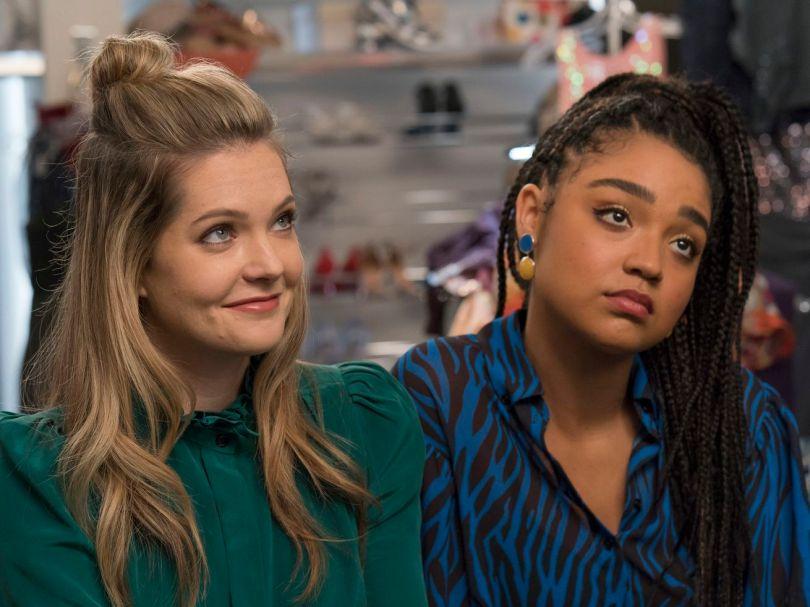 Meghann Fahy and Aisha Dee in the season 3 finale of <em>The Bold Type.</em>