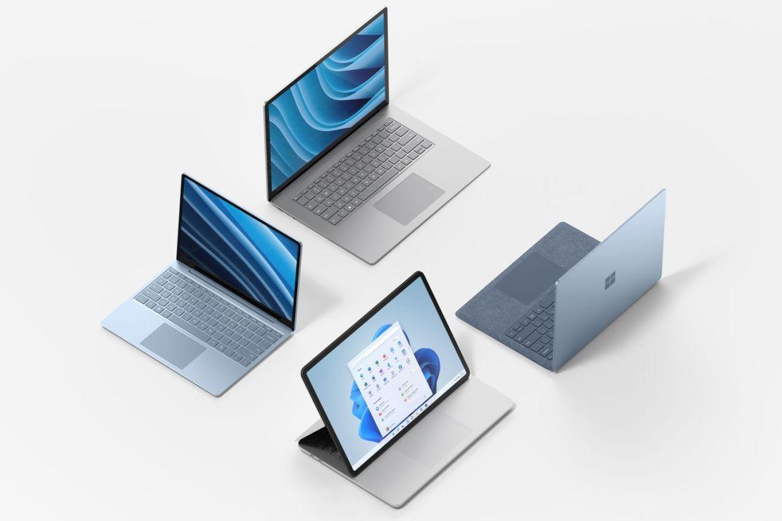 Microsoft Surface computers