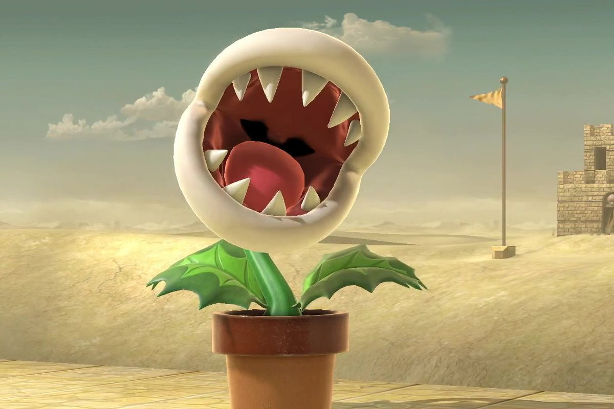 Piranha Plant Joins Super Smash Bros Ultimate Roster As A