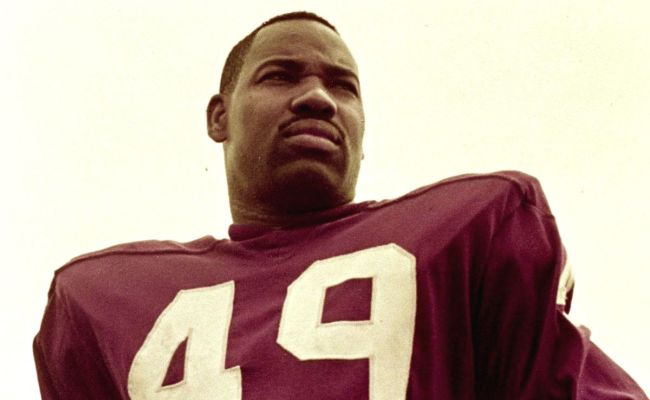 Redskins By The Jersey Numbers 49 Bobby Mitchell
