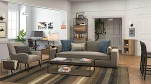 living seinfeld jerry backgrounds apartment fondos fondo oficina modsy iconic virtual sofa pantalla idealista virtuales videollamadas curbed interior gilmore culture