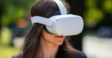 The Oculus Quest 2 headset comes with a free accessory at Newegg