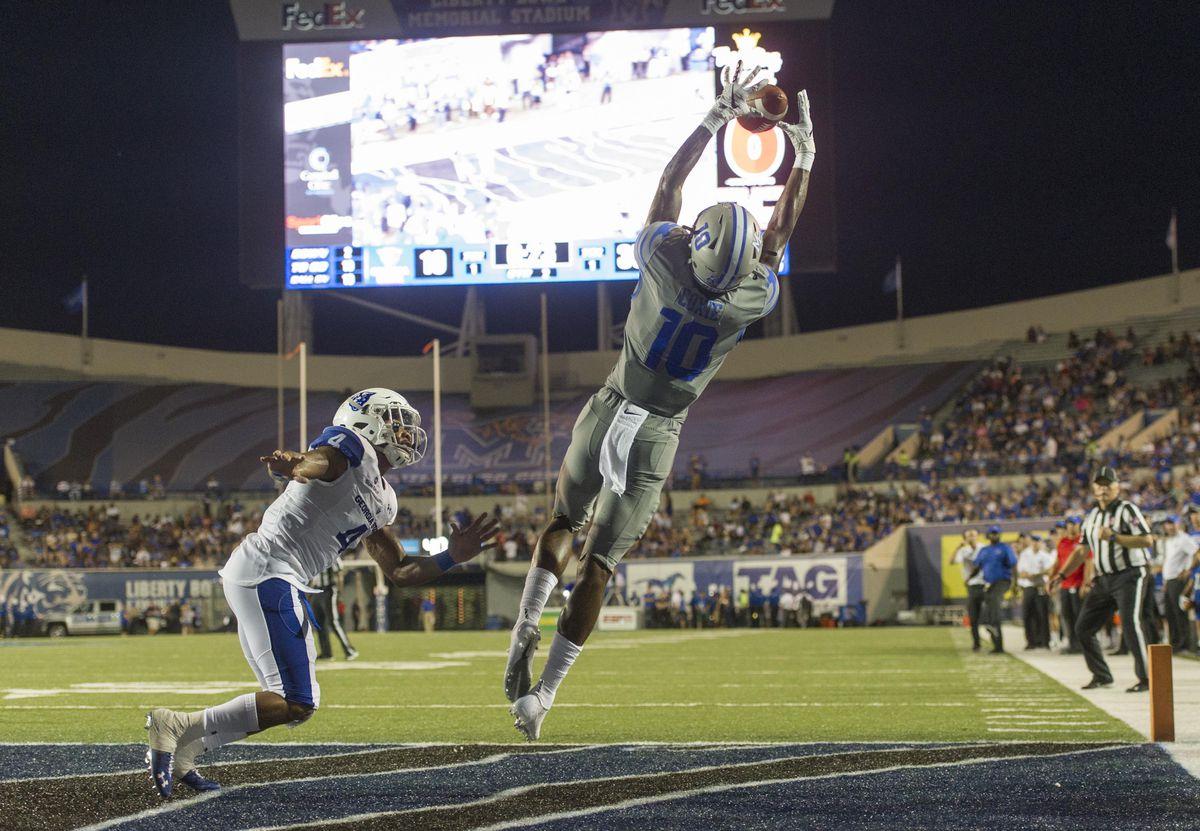 Football NCAA: Georgia State à Memphis