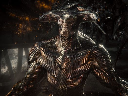 Steppenwolf's shiny, overarmored new look in Zack Snyder's Justice League
