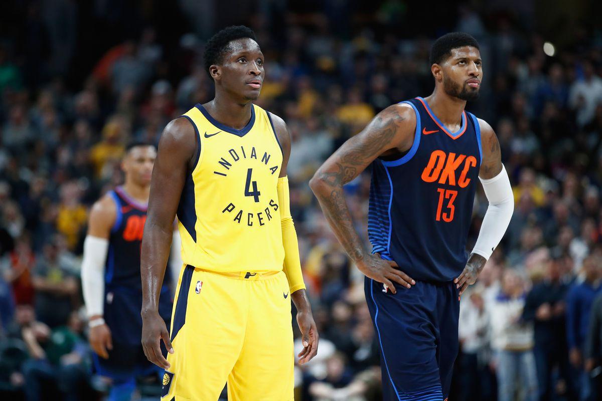 NBA playoff reaction: Paul George, Victor Oladipo debate rages on ...