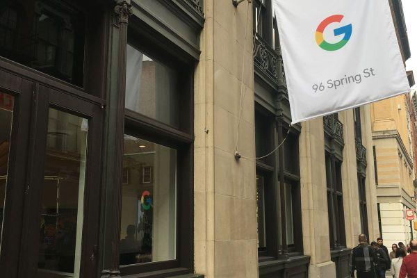 Google Pop Up Store New York City