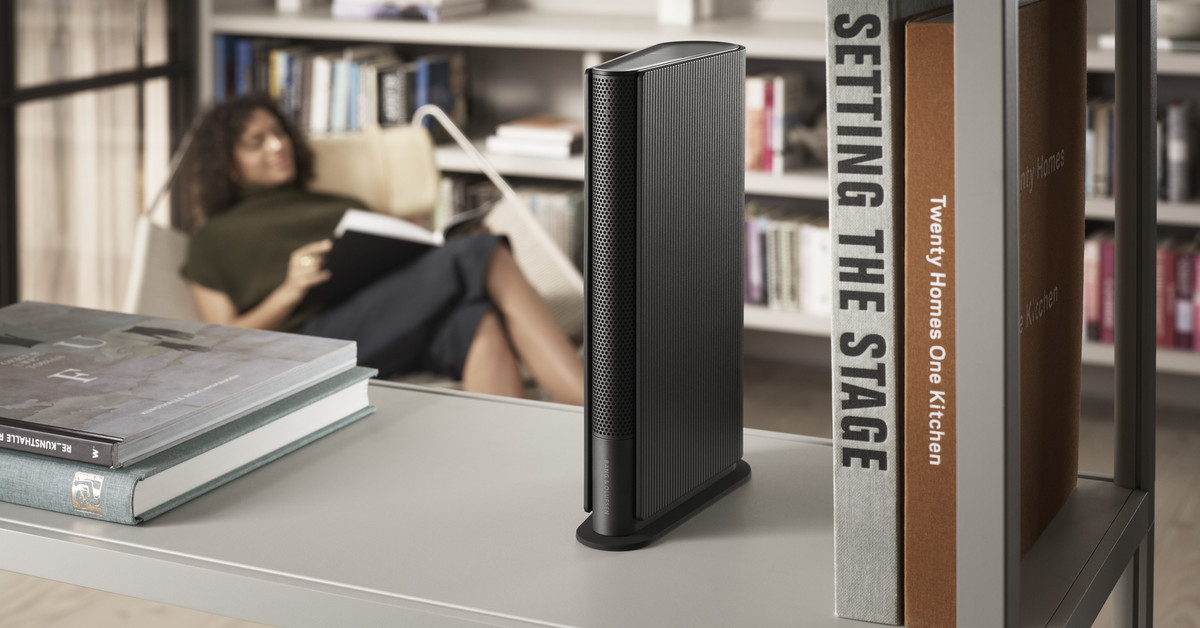 Bang and Olufsen's latest speaker disappears into your bookshelf