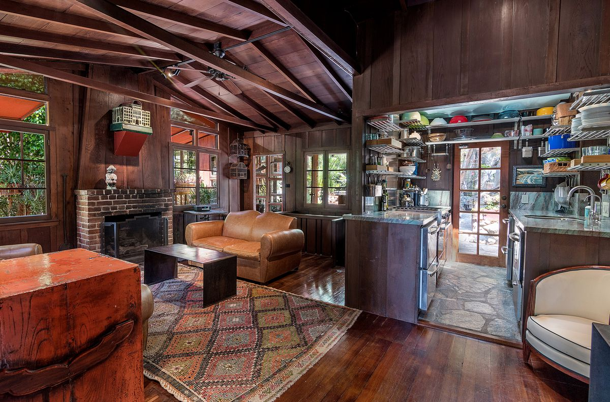 Rustic Cottage Compound In The Hollywood Hills Asking 1 4m Curbed La