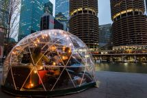 River Domes Coming Riverwalk And