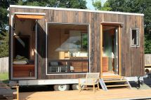 Modern Tiny House Hides Drop- Bed - Curbed