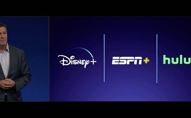 Disney Confirms It Will Likely Bundle Disney Espn