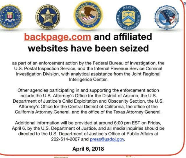 Backpage Founders Charged With Money Laundering And Aiding Prostitution The Verge