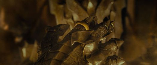 Lord of the Rings: Sauron looks at the One Ring on his finger