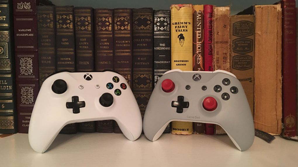The Buttons Ports And Thumbsticks Of The New Xbox One S