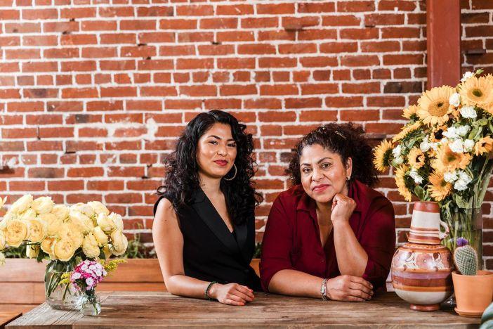 Reyna Maldonado und Ofelia Barajas von La Guerreras Küche