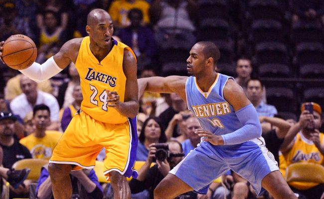Lakers Vs Nuggets Final Score Kobe Bryant Looks Good In