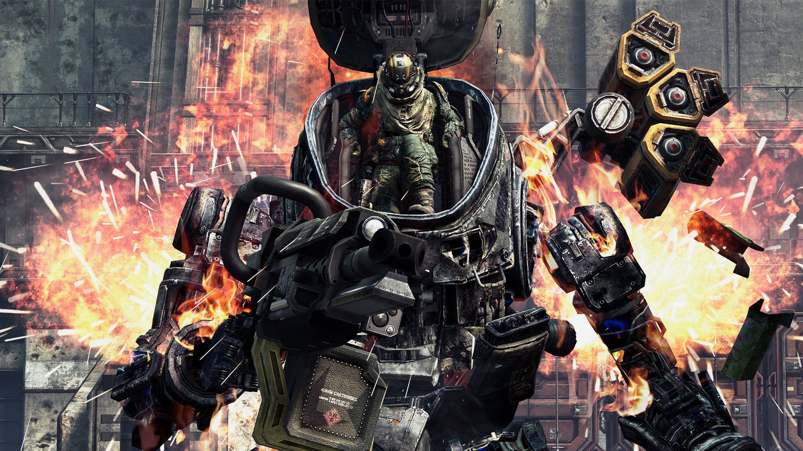 Nintnedo Fall Wallpapers Titanfall Review My Buddy Polygon